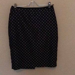 Ann Taylor Polk a dot skirt